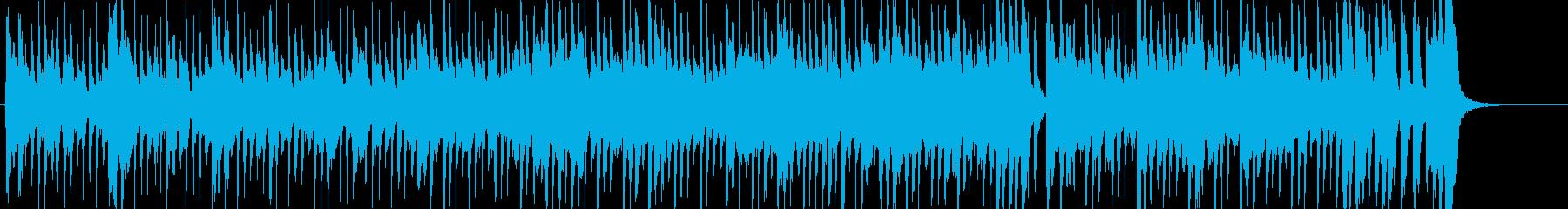怪しい雰囲気のソウル音楽の再生済みの波形