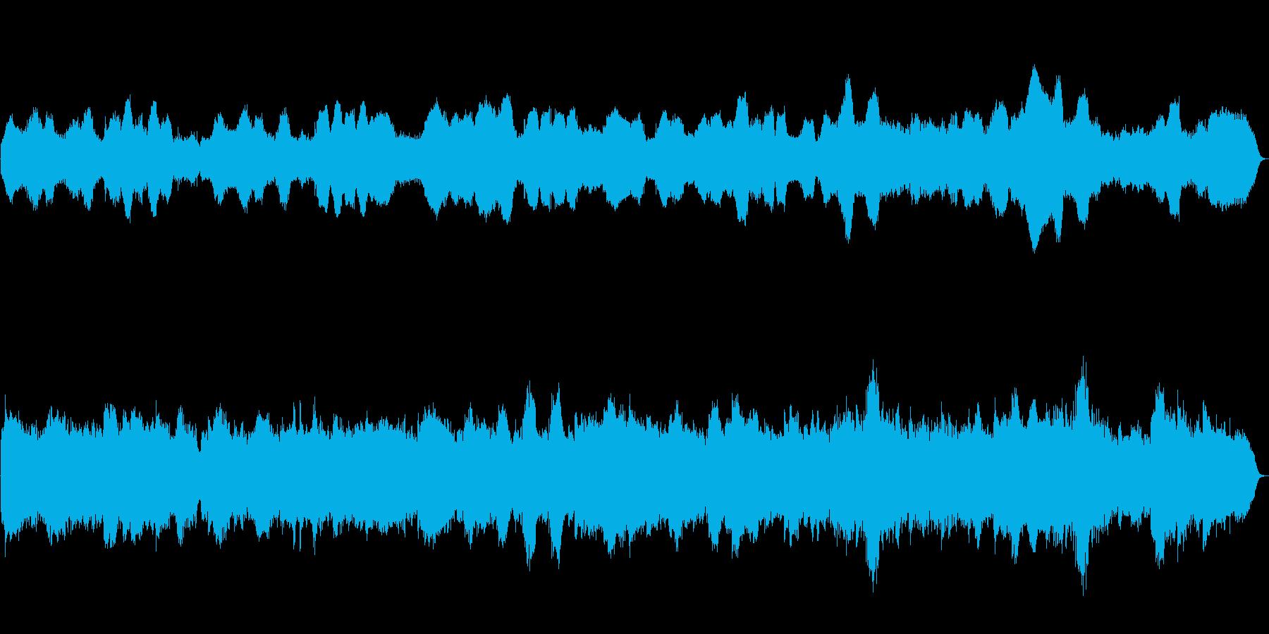 バロック調のクラリネットアンサンブルですの再生済みの波形