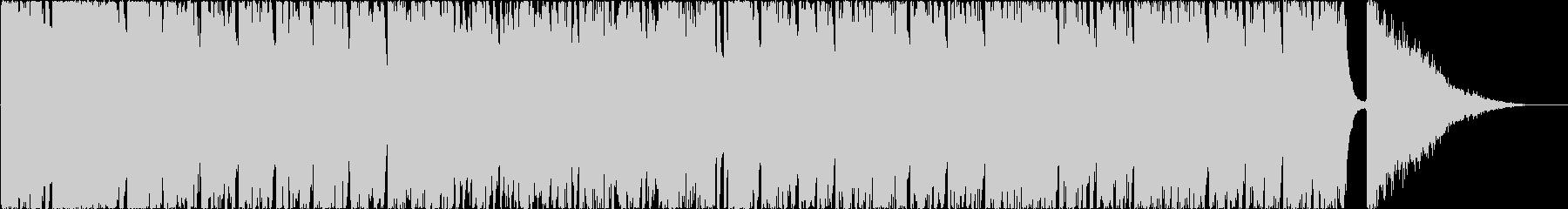 疾走感あふれるピアノストリングストラックの未再生の波形
