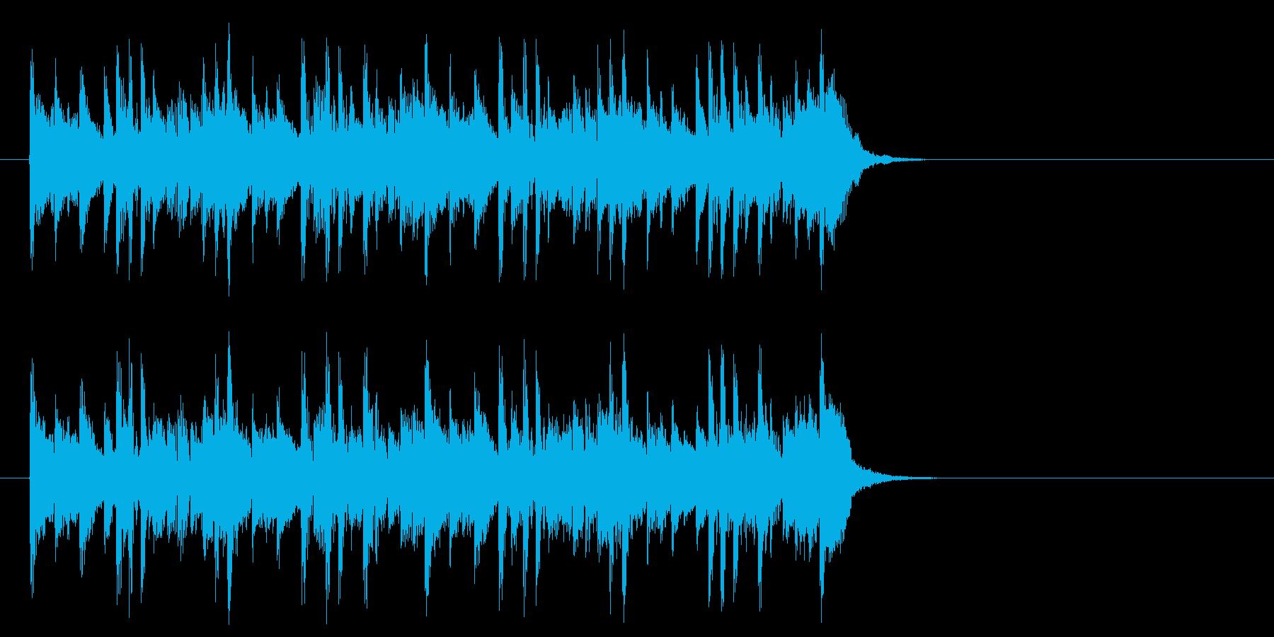 化学実験を観察するポップ(サビ)の再生済みの波形