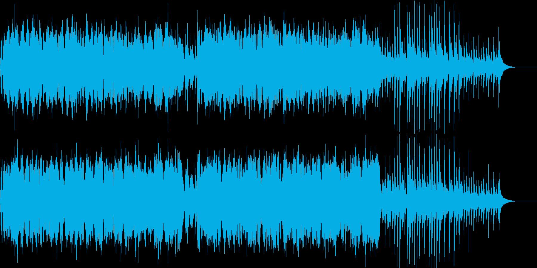 伝統を感じるワールド・ミュージックの再生済みの波形