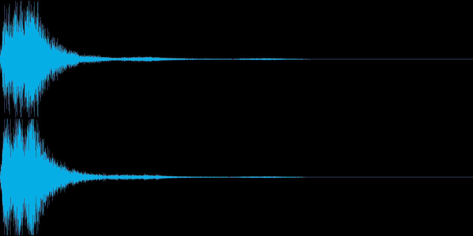 ラッパ ファンファーレ 定番 12 早いの再生済みの波形