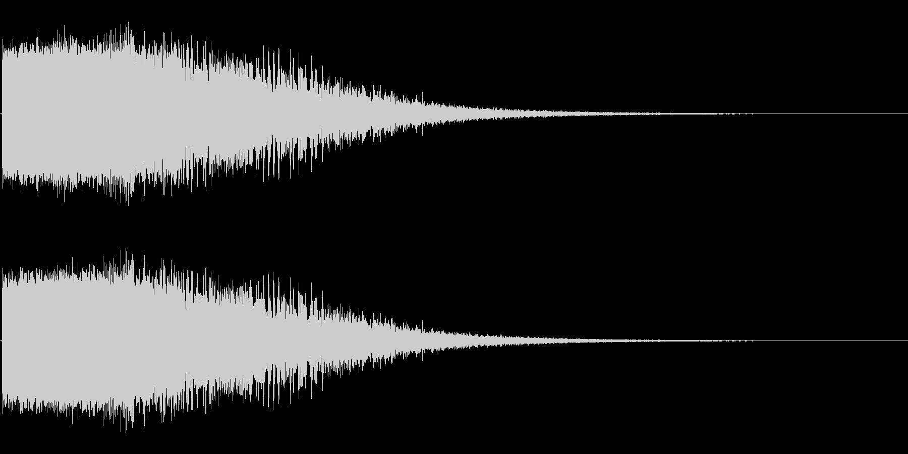 ダメージ音02(魔法・電子系)の未再生の波形