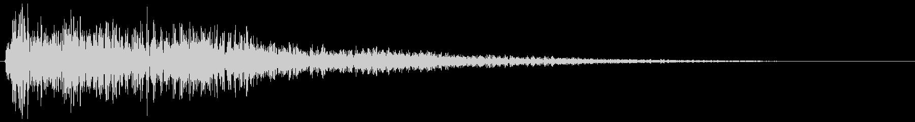 モワン(魔物の出現を予感させる音)の未再生の波形
