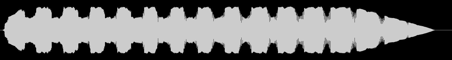 ピロロロ・・・(UFOの飛行音)の未再生の波形