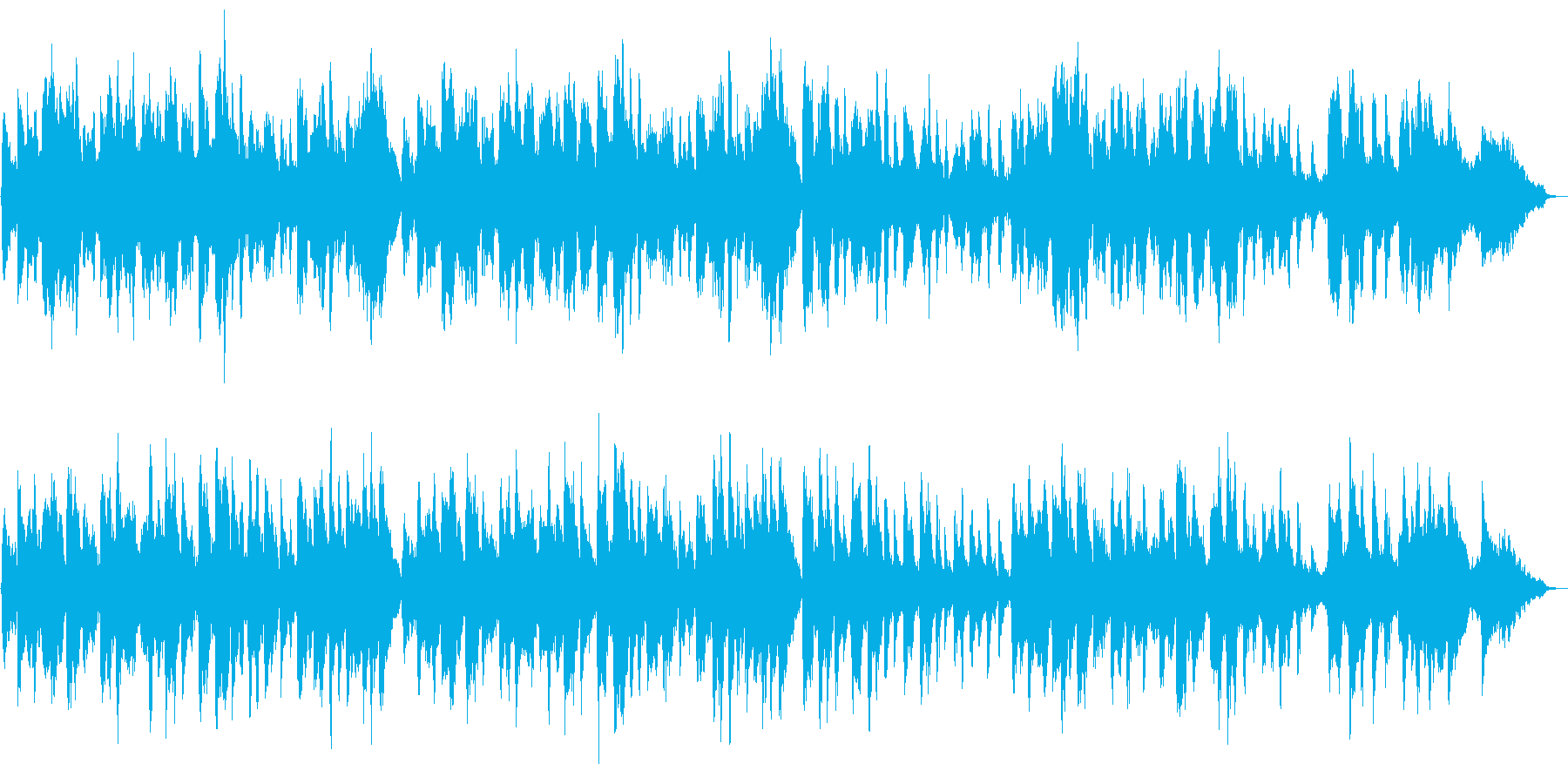 ボッケリーニのメヌエット弦楽五重奏の再生済みの波形