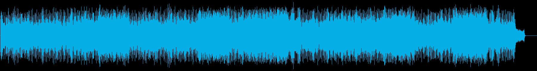 一日の情報を伝えるスリリングなポップの再生済みの波形