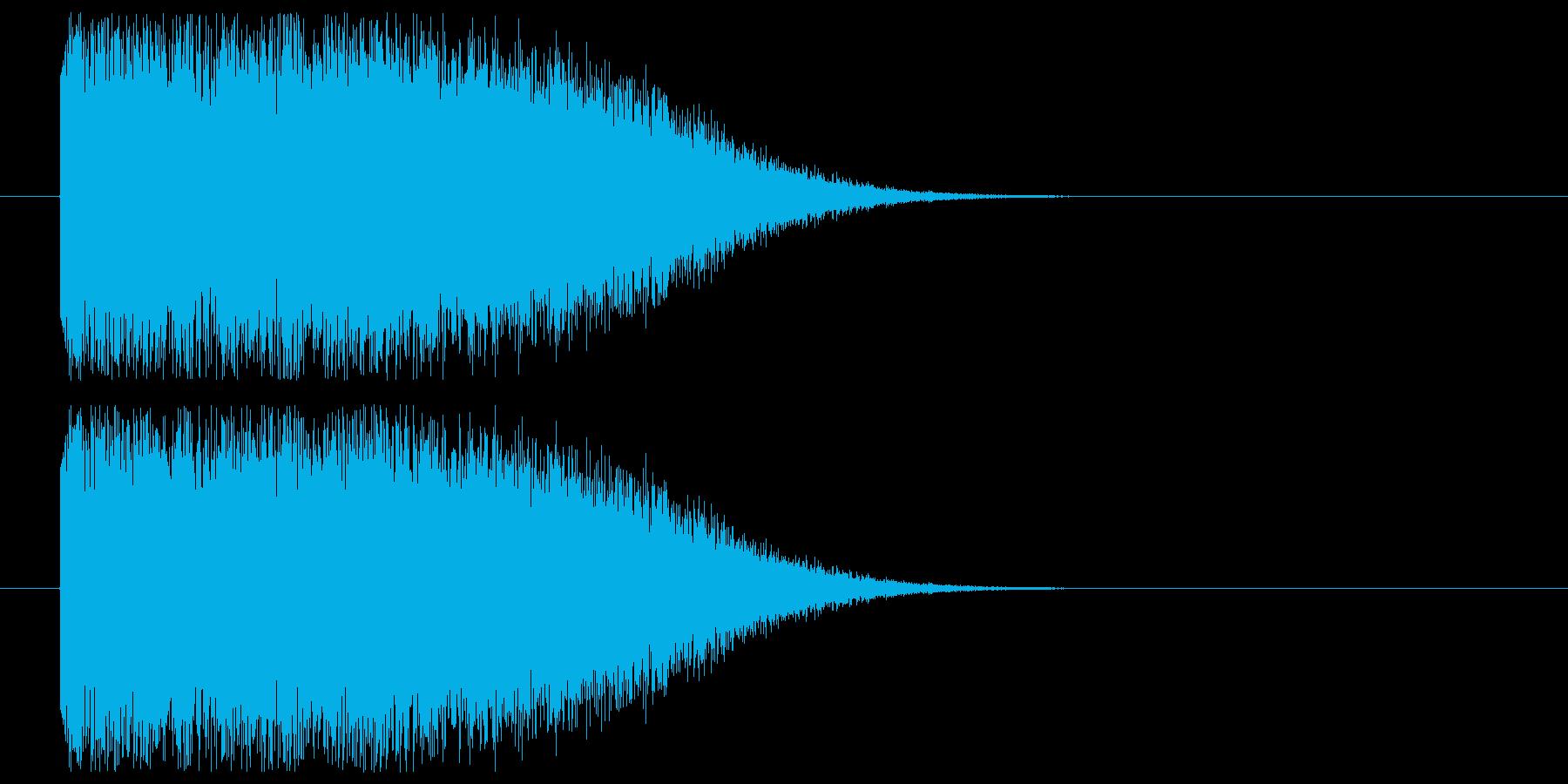 魔法発射や衝撃系の再生済みの波形