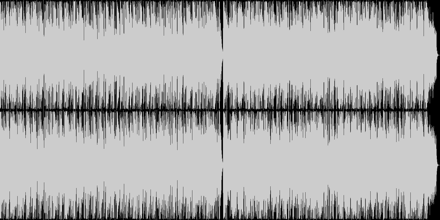フルートのリラックス効果抜群なバラード の未再生の波形