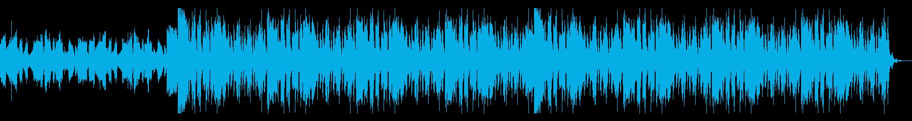 浮遊するホラー感の再生済みの波形