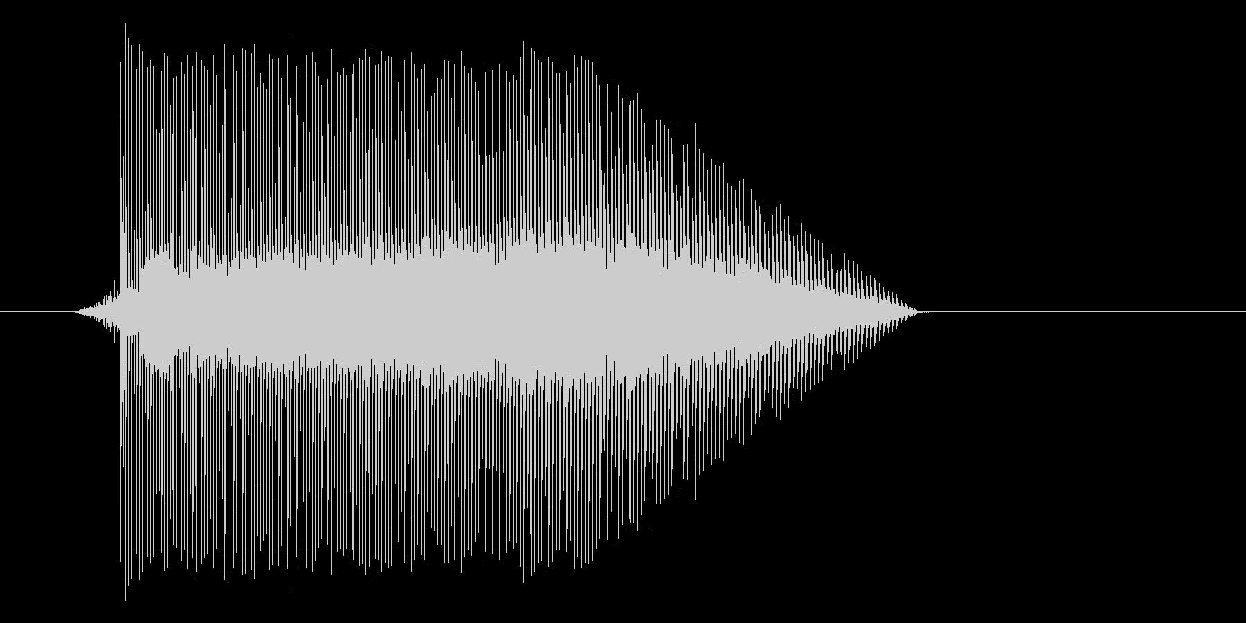 ゲーム(ファミコン風)レーザー音_015の未再生の波形