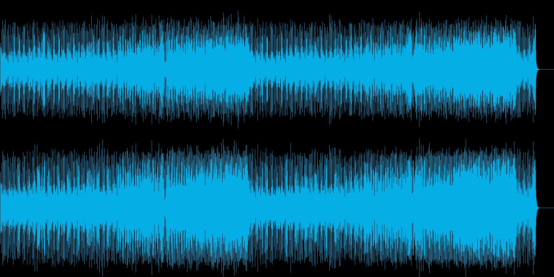 建設的で夢のあるロック/フュージョンの再生済みの波形