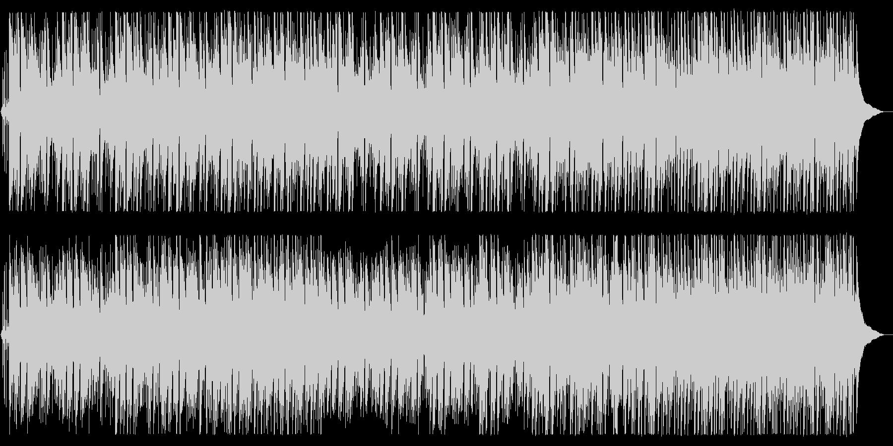 イージーリスニング寄りなボサノバBGMの未再生の波形
