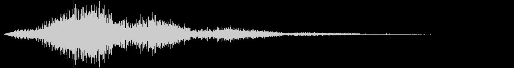 逃走-ydxの未再生の波形