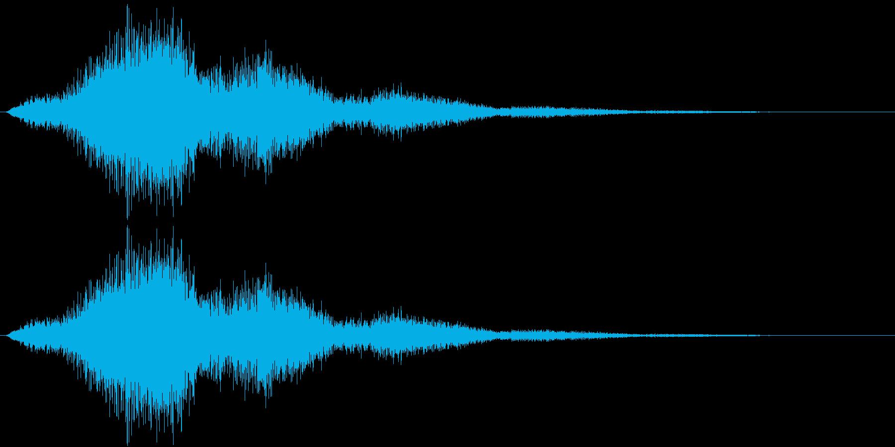 逃走-ydxの再生済みの波形