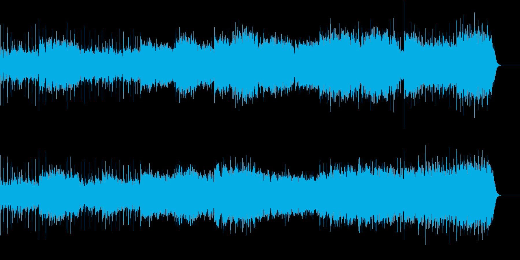 組曲「展覧会の絵」より第一プロムナードの再生済みの波形