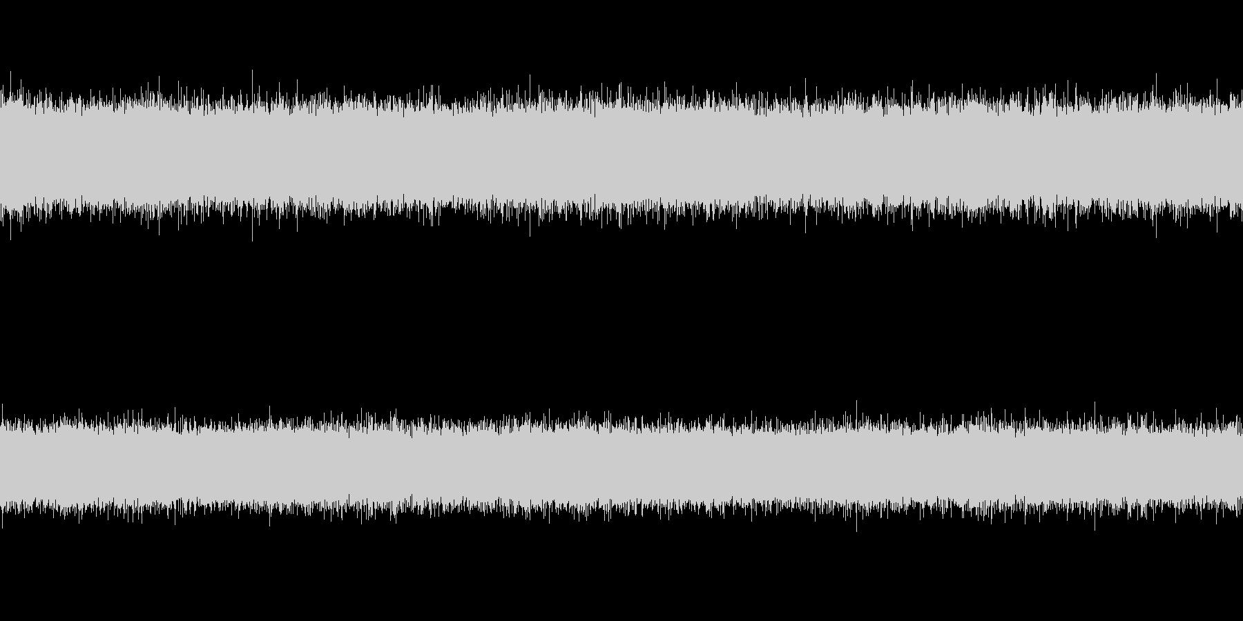 【自然音】セミの鳴き声(ループ可)の未再生の波形