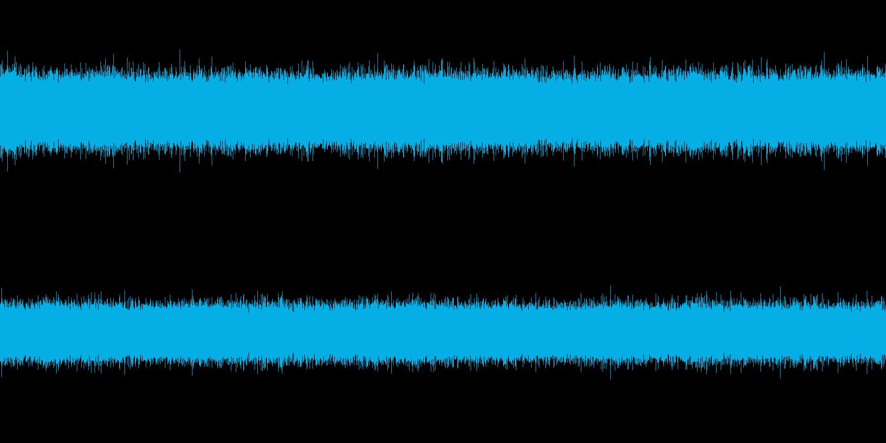 【自然音】セミの鳴き声(ループ可)の再生済みの波形