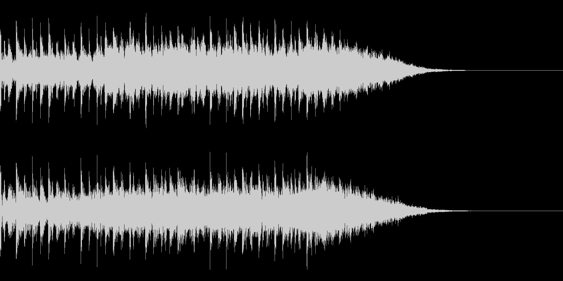 テクノジングルの未再生の波形