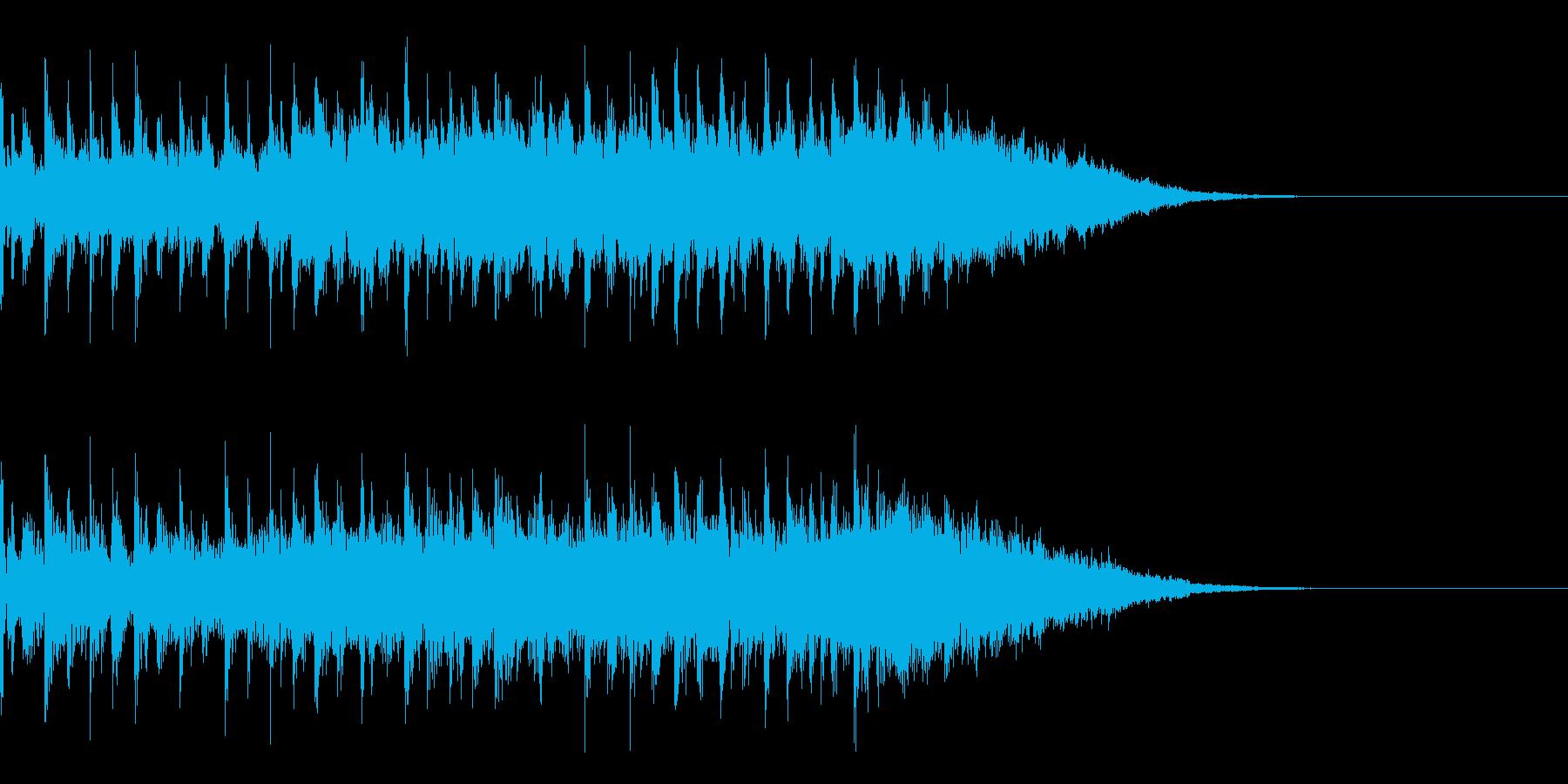 テクノジングルの再生済みの波形