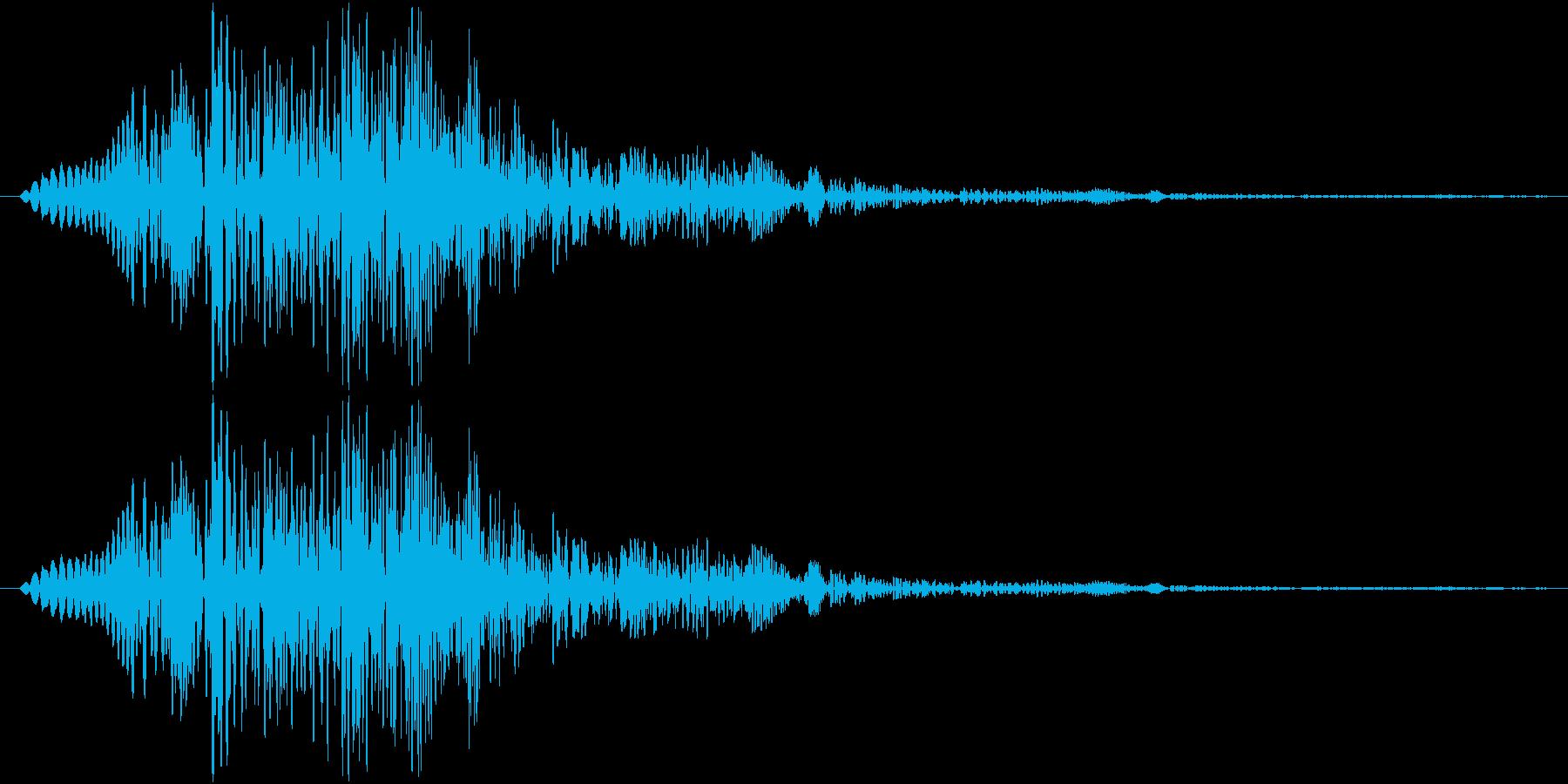 ぶくぶくぶくっ(水魔法、泡、魚)の再生済みの波形