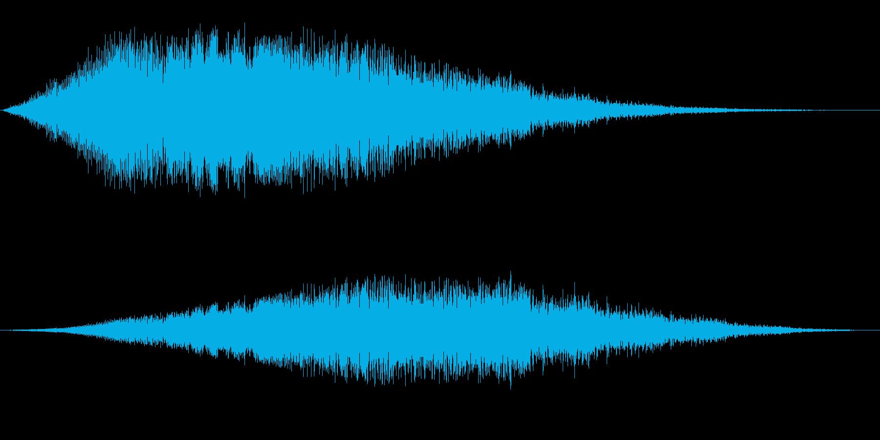 ピュオ〜ン(宇宙船 宇宙人)の再生済みの波形