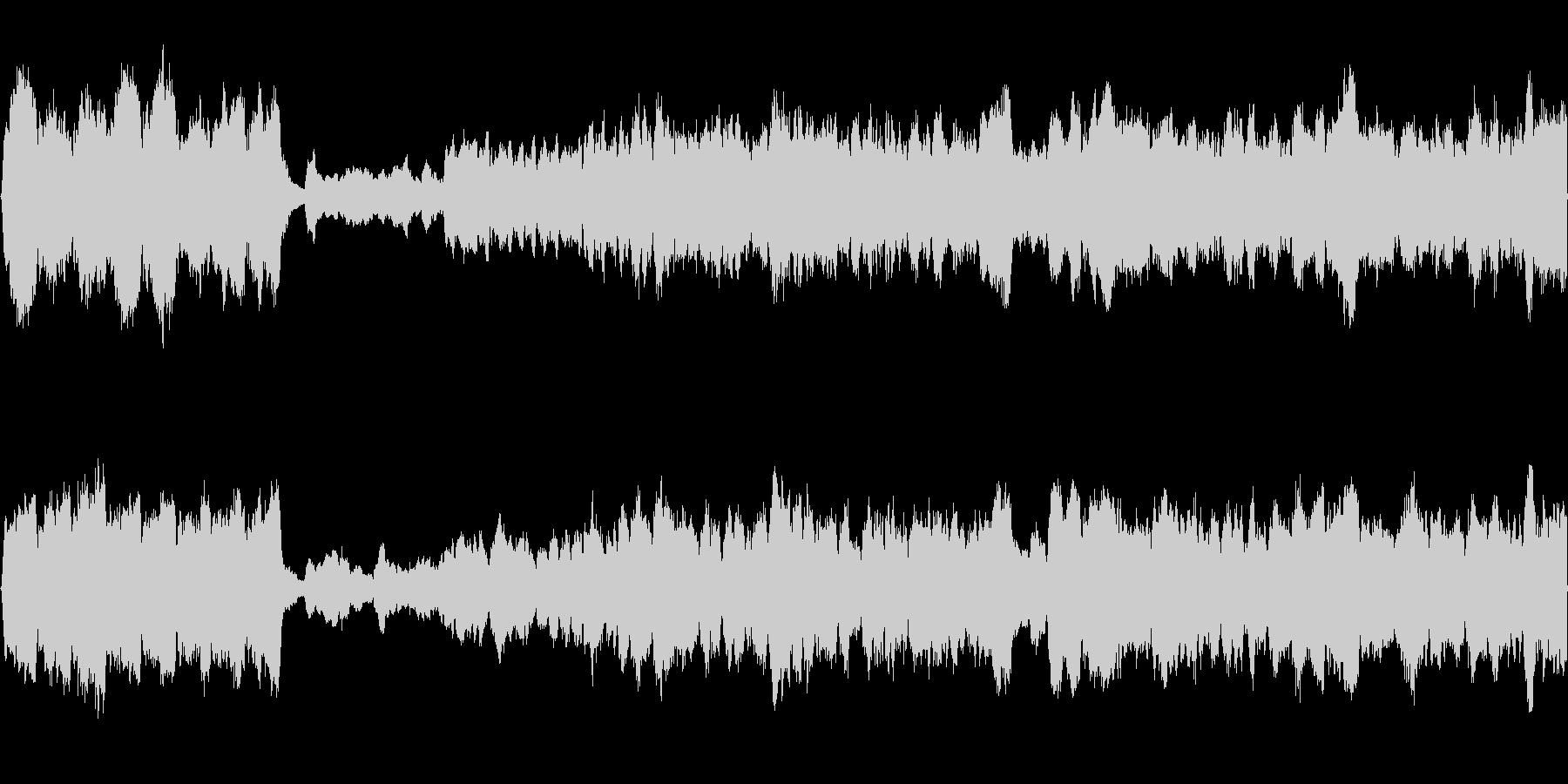 神聖なパイプオルガンのクラシックの未再生の波形