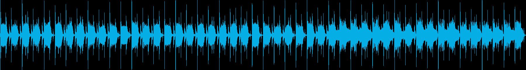 木琴とリコーダーのほのぼの+ほんわかな曲の再生済みの波形