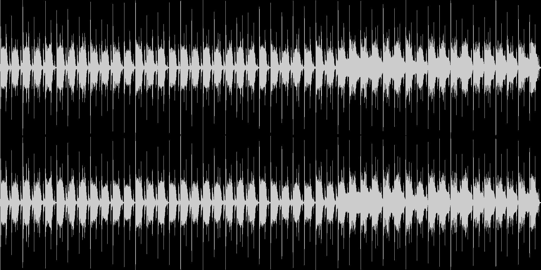 木琴とリコーダーのほのぼの+ほんわかな曲の未再生の波形