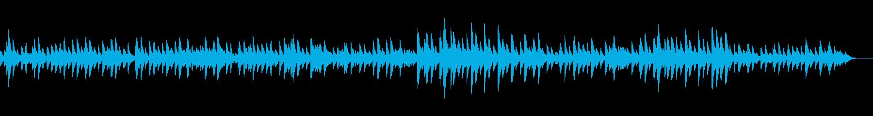 モーツアルトK331のオルゴールの再生済みの波形