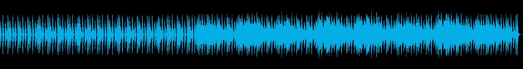 近未来風の爽やかなBGMの再生済みの波形