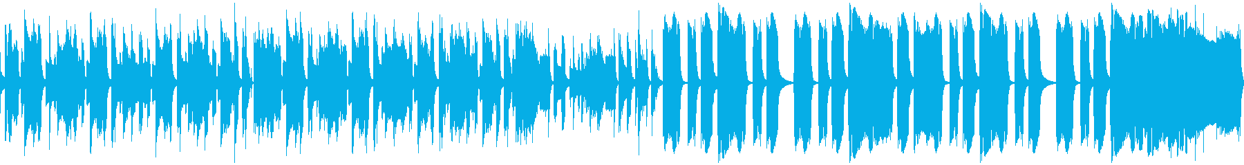 レトロBGM 日常 変化の再生済みの波形
