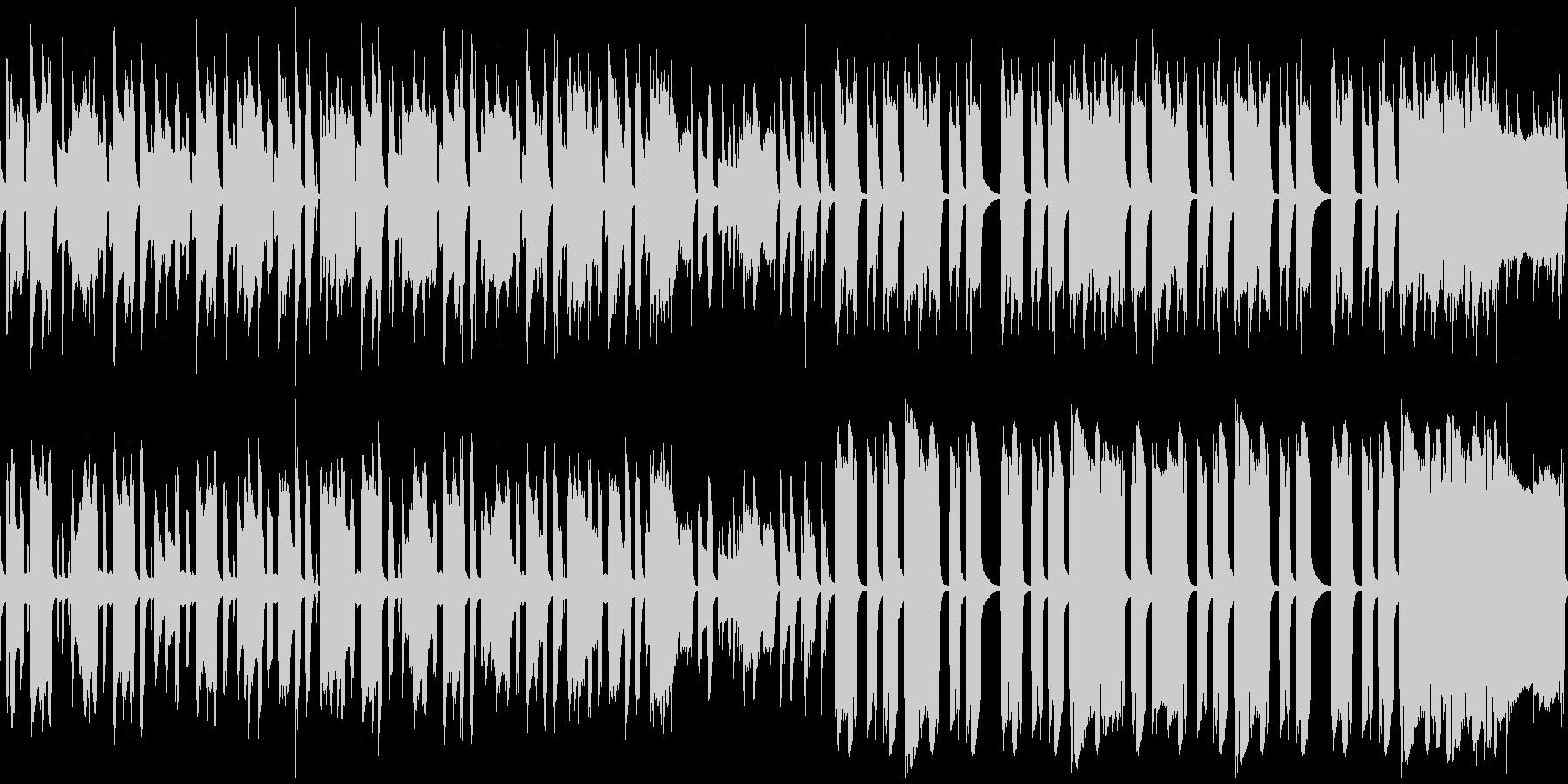 レトロBGM 日常 変化の未再生の波形