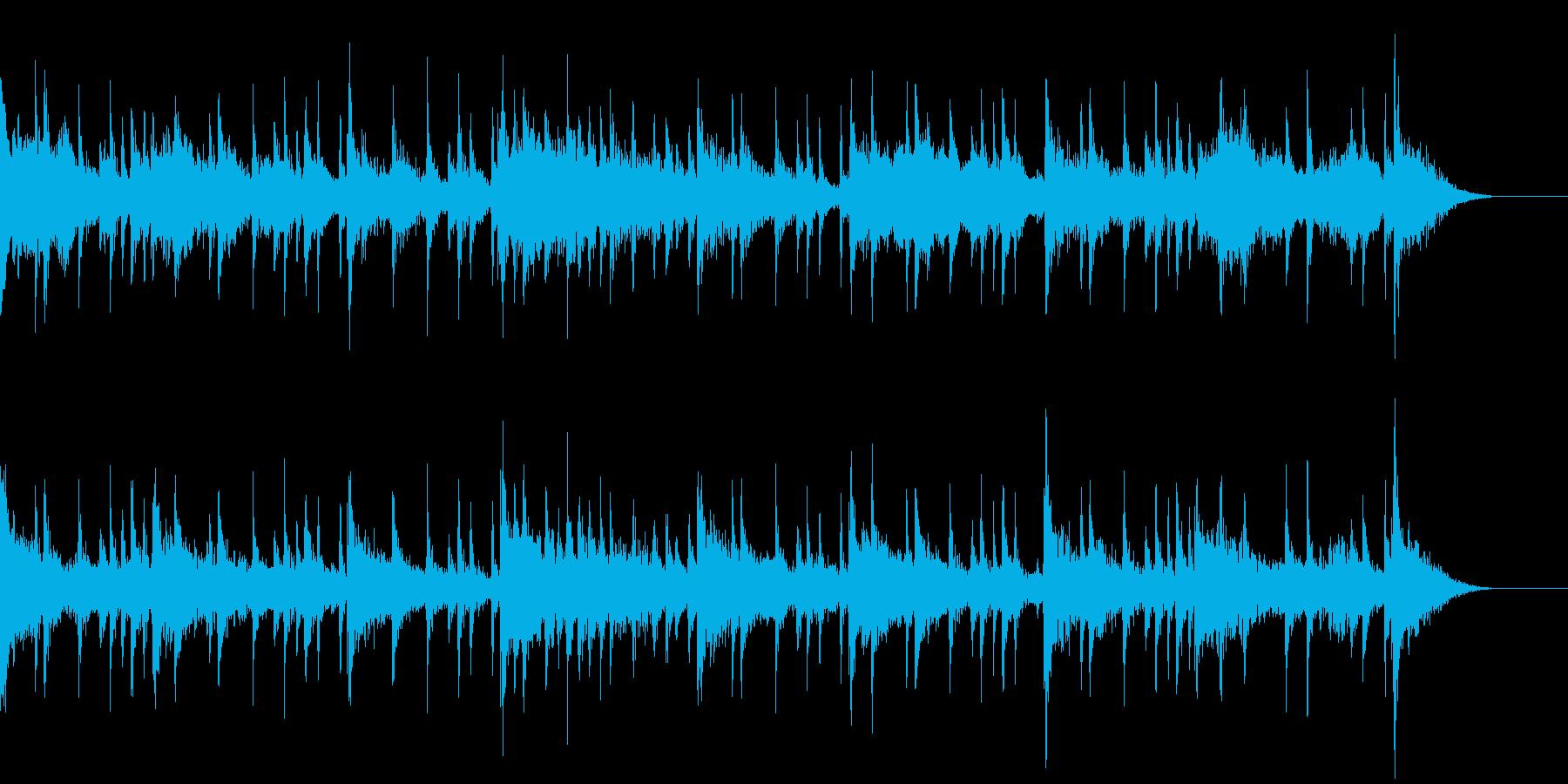 リングモジュレータ使用の不思議なジングルの再生済みの波形