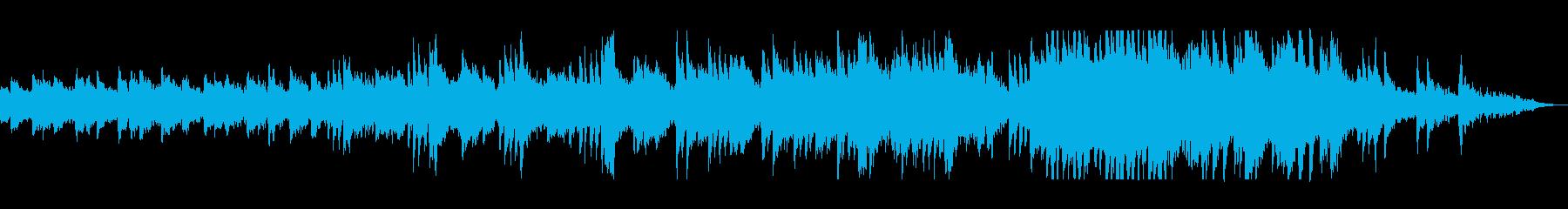 ピアノとハープのリラックス癒しサウンドの再生済みの波形