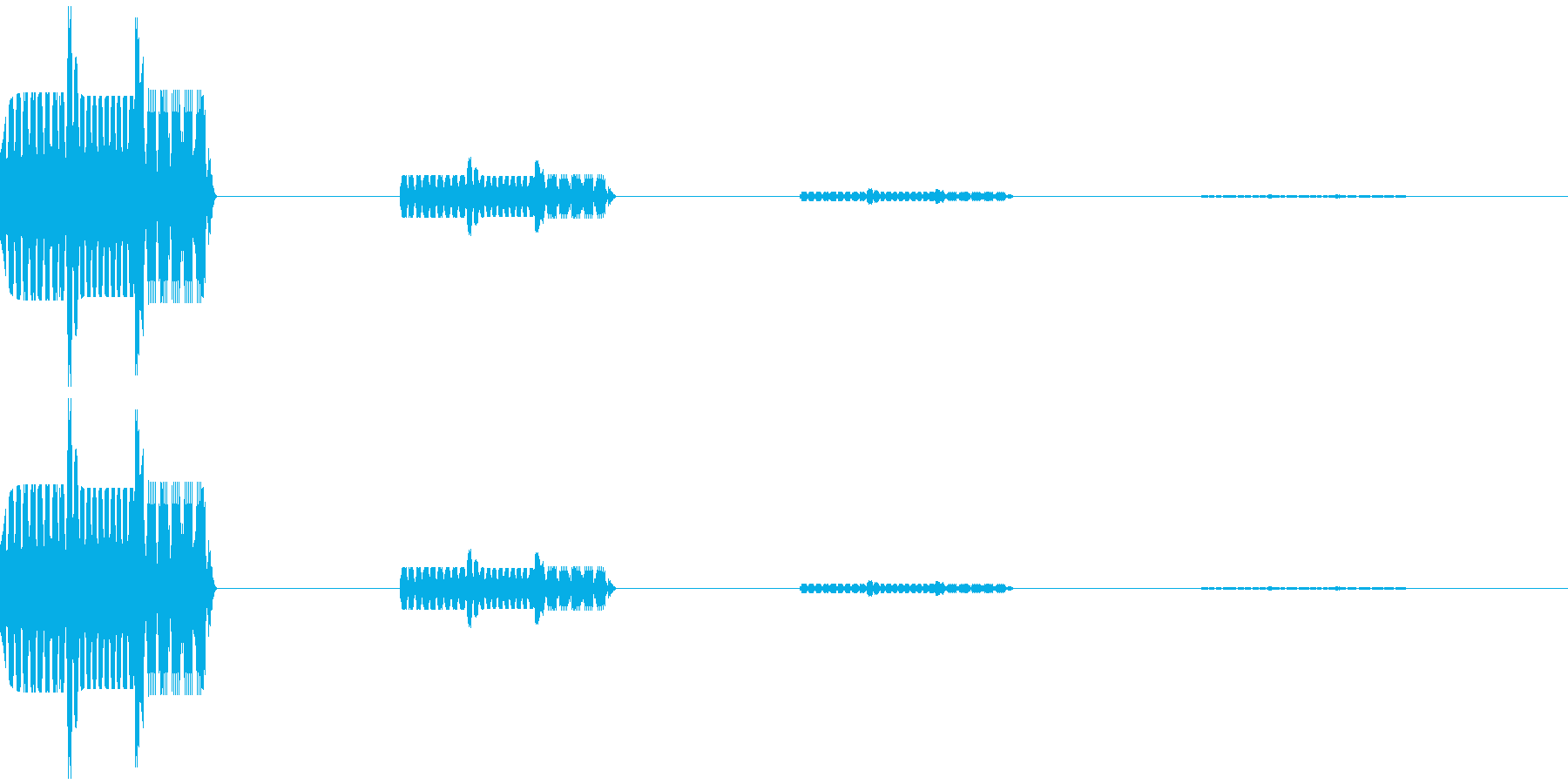 ゲーム選択、決定、キャンセル音 ビロン の再生済みの波形