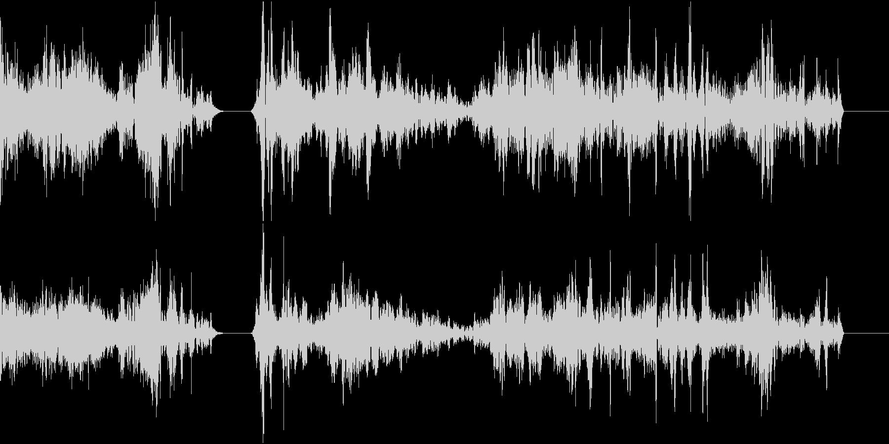 TVFX POPなザッピング音 1の未再生の波形