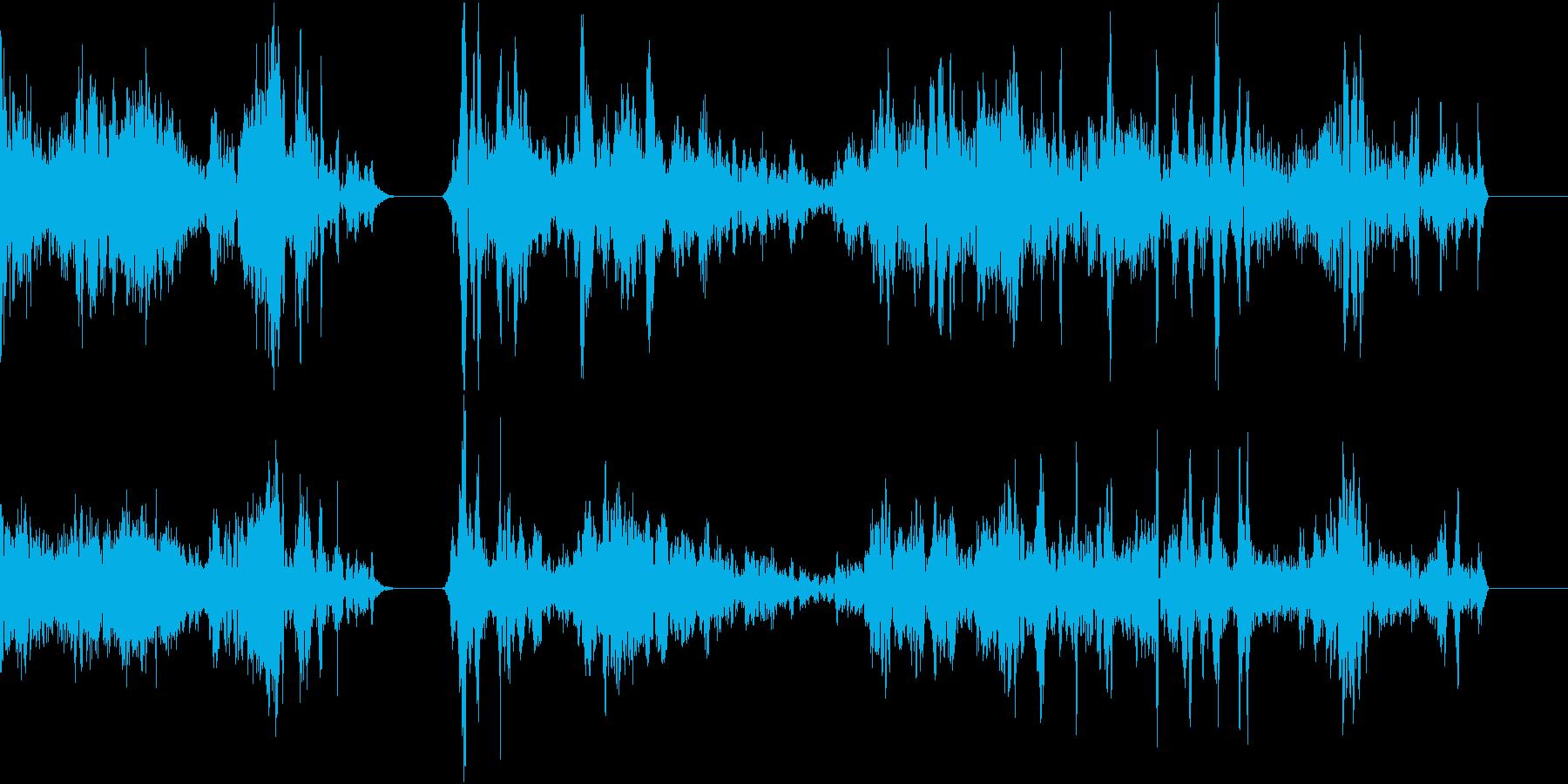 TVFX POPなザッピング音 1の再生済みの波形