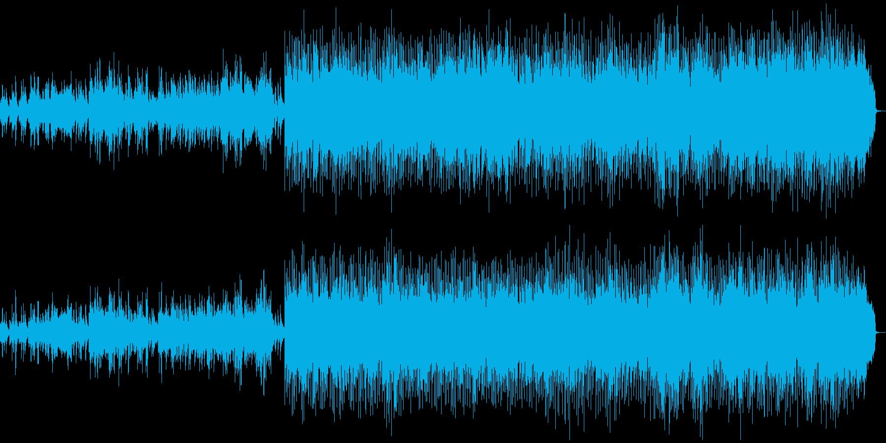明日も頑張ろうと思えるようなピアノ曲の再生済みの波形