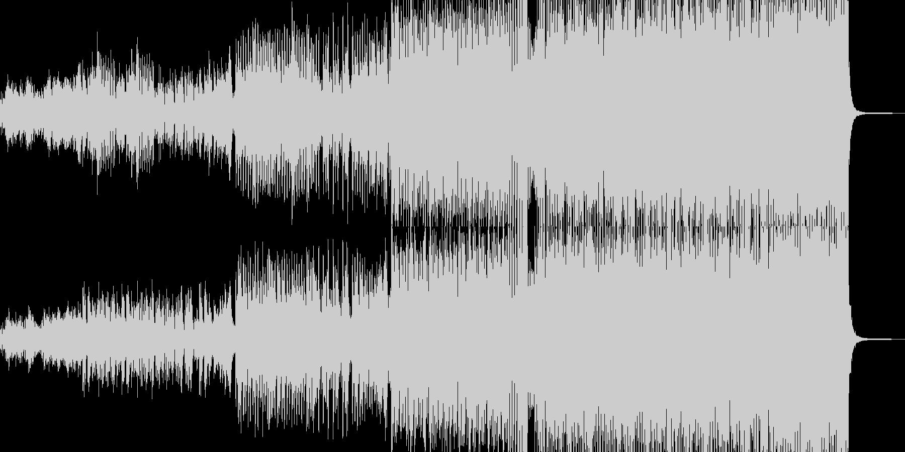 (≧▽≦)なトルコ行進曲の未再生の波形