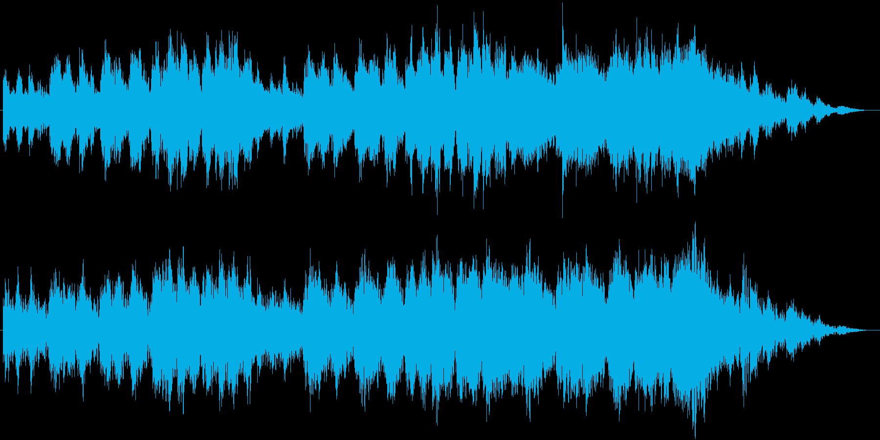 孤独や暗さを演出した幻想的なBGMですの再生済みの波形