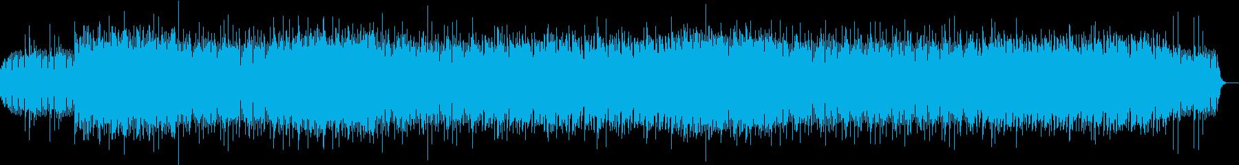 和風でエスニックなエレクトロの再生済みの波形