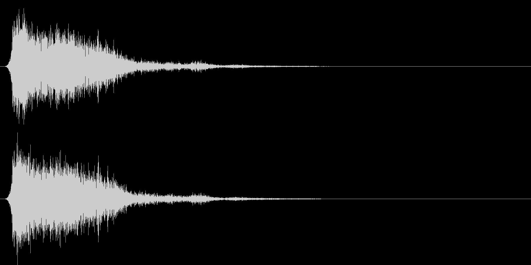 コミカルなダッシュ!ジャンプの効果音4bの未再生の波形