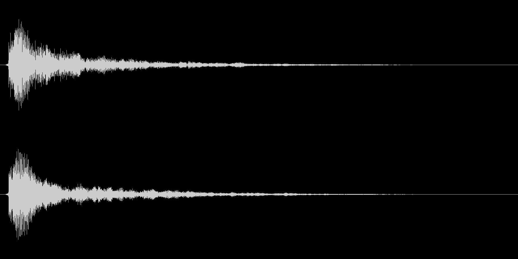 サウンドロゴ(企業ロゴ)_003の未再生の波形
