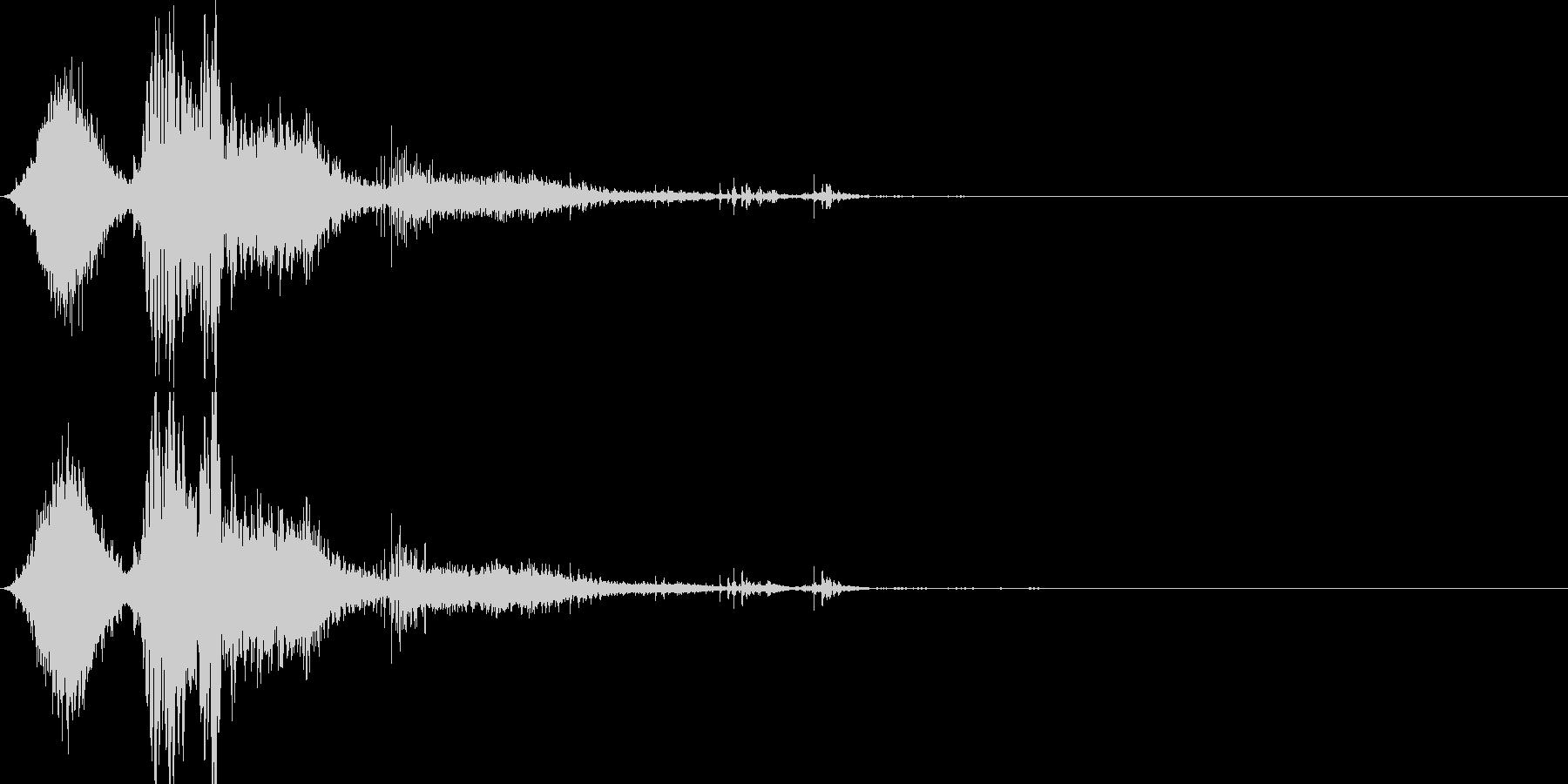 斬撃音(刀や剣で斬る/刺す効果音)16bの未再生の波形