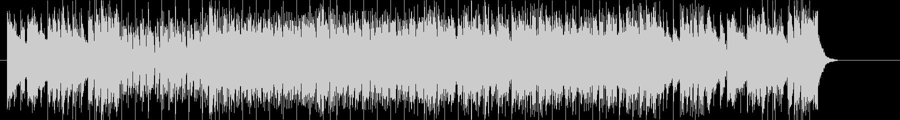 テーマ曲向けのはつらつとしたフュージョンの未再生の波形