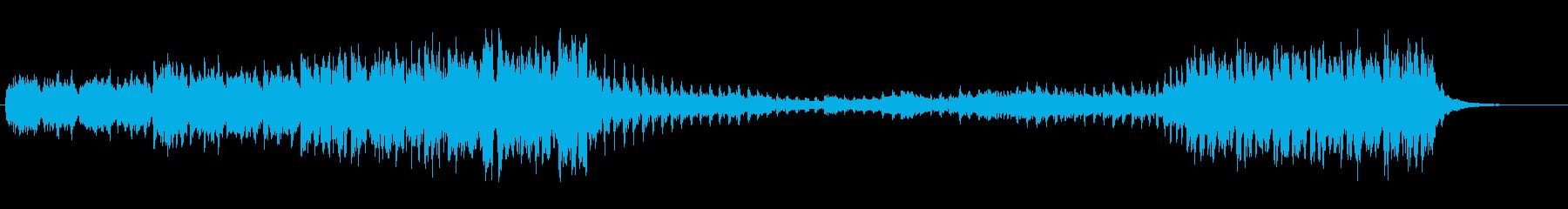 ・軽快なダンスミュージックです・シュー…の再生済みの波形