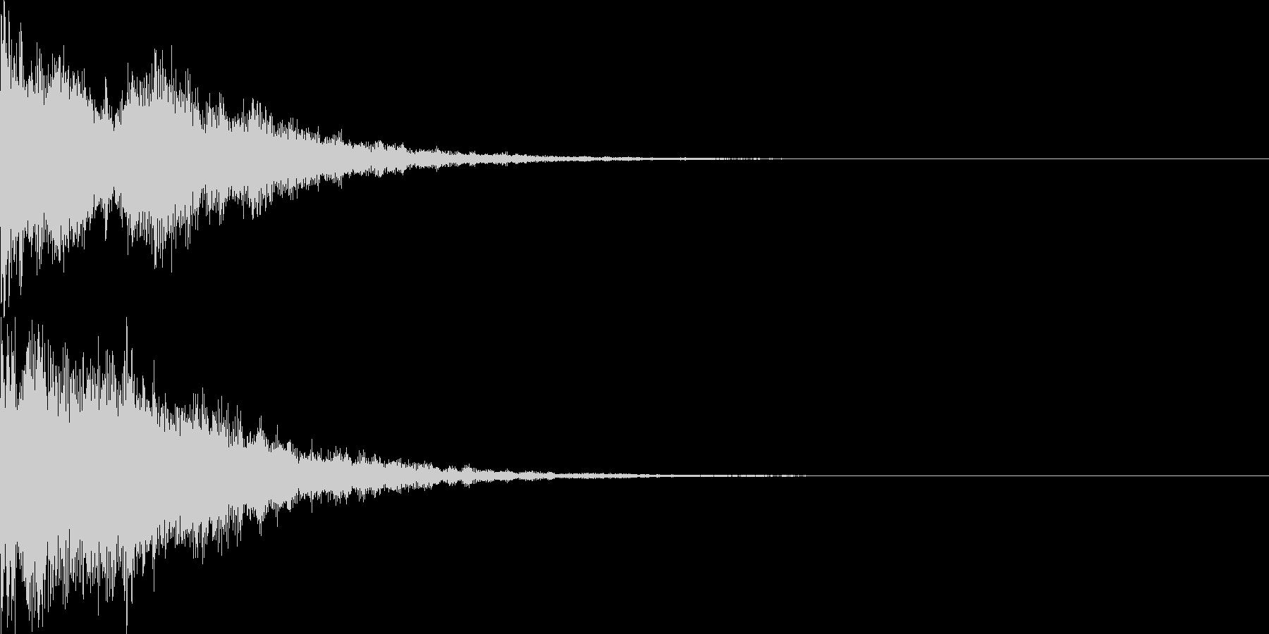 決定音54_シンセZの未再生の波形