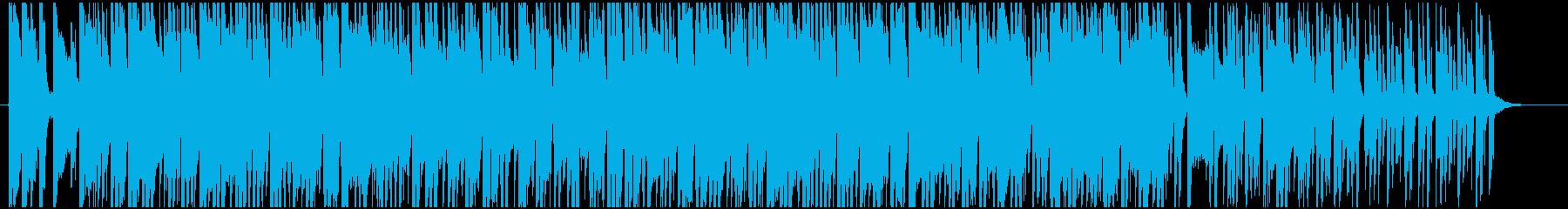 爽やかで軽快なボサノヴァの再生済みの波形