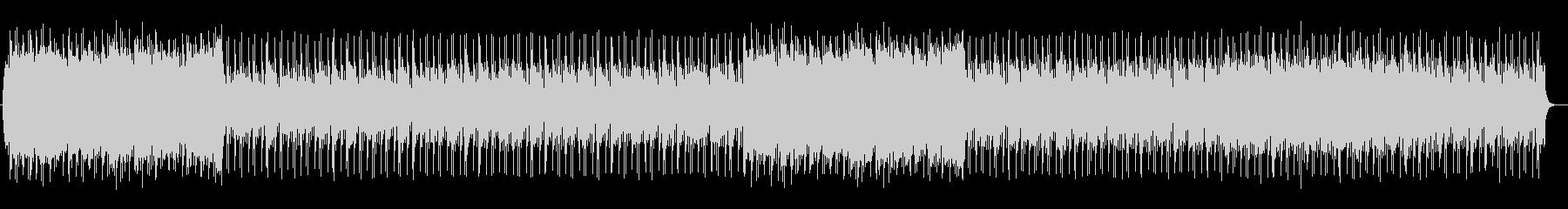 シンセによる大人っぽい洋楽AOR風の未再生の波形